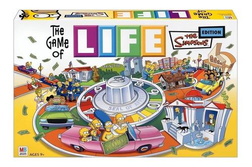 Juego De La Vida Life Los Simpsons Envío Full Hasbro