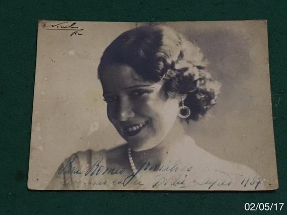 * Bidú Sayão - Dedicatória E Autógrafo - Ano: 1937 *
