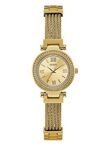 Reloj Inoxidable Guess De Acero CuarzoColorDorado P0nwOk