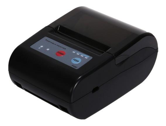 Mini Impressora Portátil Bluetooth Cupom Pedidos E Apostas