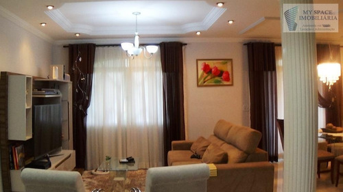Casa Com 3 Dormitórios À Venda, 300 M² Por R$ 1.100.000,00 - Parque Nova Jandira - Jandira/sp - Ca0163