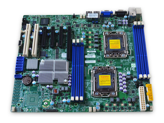 Placa Mãe Server Supermicro X8dtl-if-o Ddr3 Lga1366 Atx