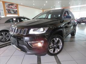 Jeep Compass Limited 2.0 16v Flex 2018/ok Preta