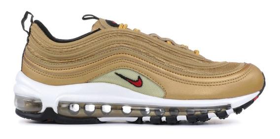 Nike Air Max 97 Gold Metallic, 100% Originales