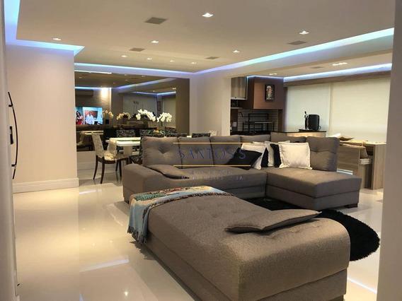 Apartamento Com 3 Dormitórios À Venda, 138 M² Por R$ 1.170.000,00 - Morumbi - São Paulo/sp - Ap1560