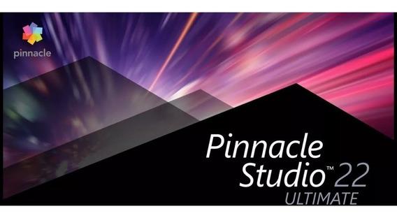 Pinnacle Studio 22 Ultimate + Completo Serial Original