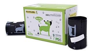 Sunshinebio 100% Compostable Bolsas De Poop De Residuos De P
