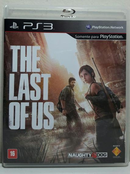 Jogo De Ps3 The Last Of Us Em Mídia Física Dublado