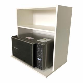 Suporte Microondas Armário Multiuso 100% Mdf Para Cozinha