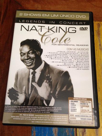 Dvd Nat King Cole / Al Martinho - Legends In Concert