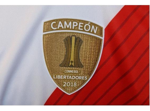 Parche Campeón Copa Libertadores River 2018