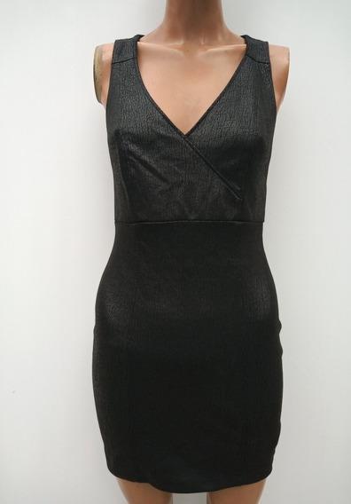 Vestido Negro Al Cuerpo Forevet 21