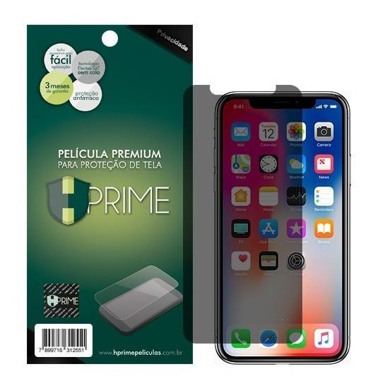 Película Vidro Temperado Hprime Apple iPhone X - Privacidade