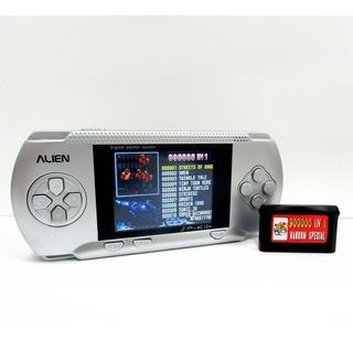 Sega Portatil Consola Alien 16 Bits 100 Juegos Recargable