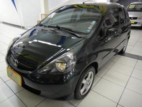 Honda Fit Lx 1.4 8v Flex Mec Completo Couro Rodas Verde 2008