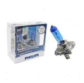 Diamond Vision Philips Super Branca H7 (selo Autenticidade)