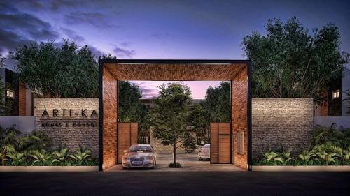 Townhouse Casa En Venta En Cancun En Nuevo Desarrollo Arti-ka