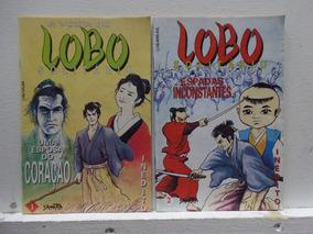Lote A Volta Do Lobo Solitário #1 Ao #5 Editora Sampa
