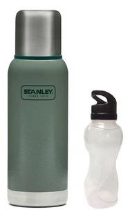 Termo Stanley Adventure 1lts Cebador + Botella De Regalo