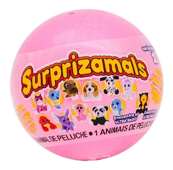 Mini Pelucia Surprizamals Serie 2 36178 - Toyng
