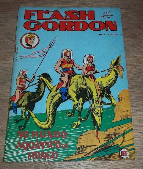 Flash Gordon Nº 6 - Rio Gráfica - Ano 1973 - Rara!!