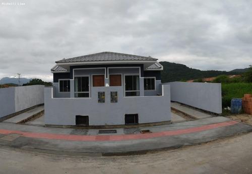 Casa Para Venda Em Palhoça, Bela Vista, 2 Dormitórios, 1 Suíte, 2 Banheiros, 1 Vaga - Ml90_1-1578263