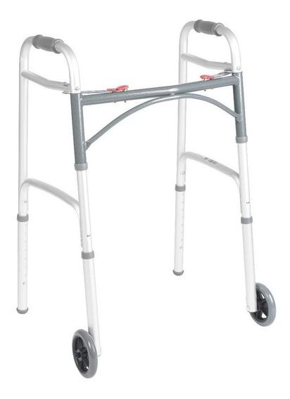 Andadera Ortopédica Aluminio Con Ruedas Plegable Marca Drive
