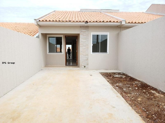 Casa Para Venda Em Ponta Grossa, Boa Vista, 3 Dormitórios, 1 Banheiro - Mr19-9