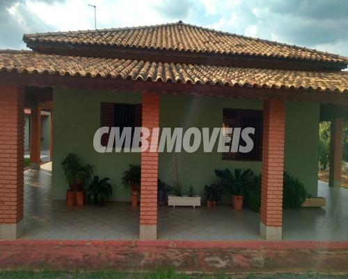 Chácara Para Venda 3 Dormitórios No Bairro Recanto Dos Dourados Em Campinas - Ch03117 - Ch03117 - 69021173