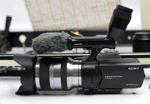 Filmadora Sony Nex-vg 20 Com Lente 18-200mm Sony