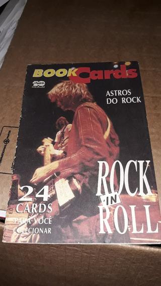 Livro Book Cards Astros Do Rock In Roll Nirvana Elvis Heavy