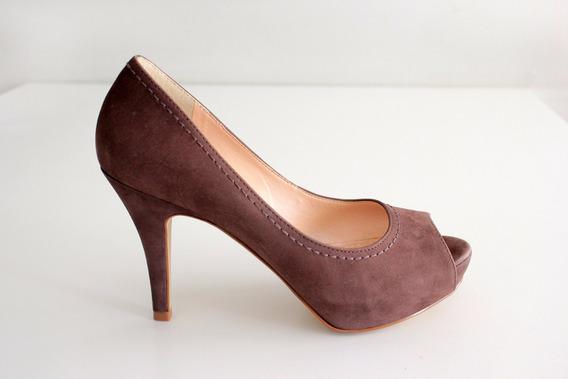 Sapato Peep Toe Meia Pata Nobook- Emporio Naka
