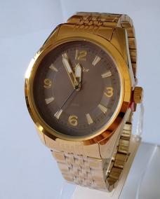 Relógio Dourado Masculino Condor Original Co2315af/4c