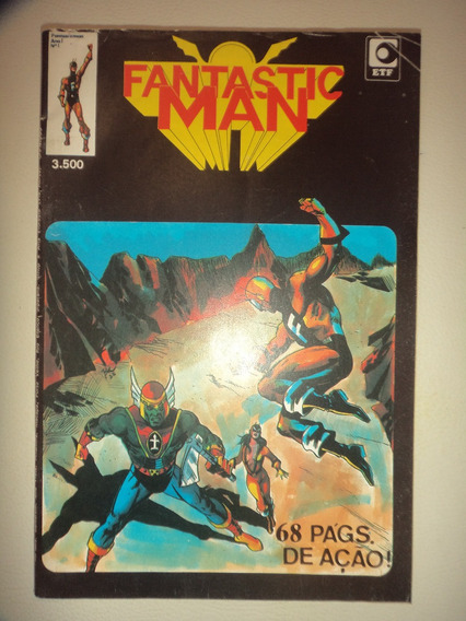 Fantastic Man 1 Editora Tony Fernandes 1983 Etf Otimas