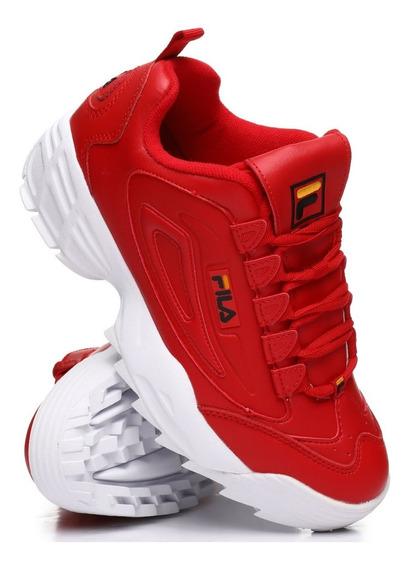 Tenis Fila Disruptor 3 Rojo/negro 1fm00424-606