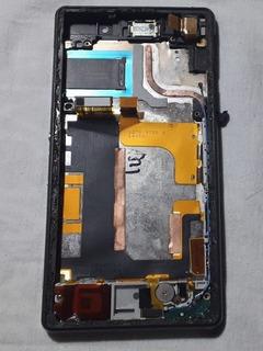 Aro Gabinete Carcaça Original Sony Xperia Z2 D6543 Kit