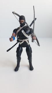 Ninja Negro Con Accesorios Y Armas Rambo Jocsa