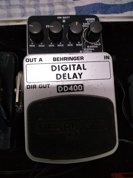 Pedal Para Guitarra Behringer Dd400 Digital Delay