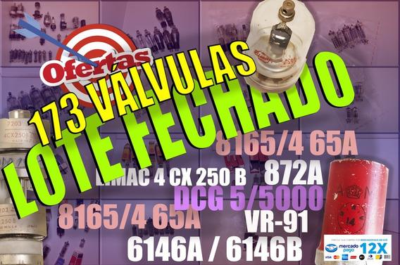 Válvula - Lote Fechado 173 Peças!!!!
