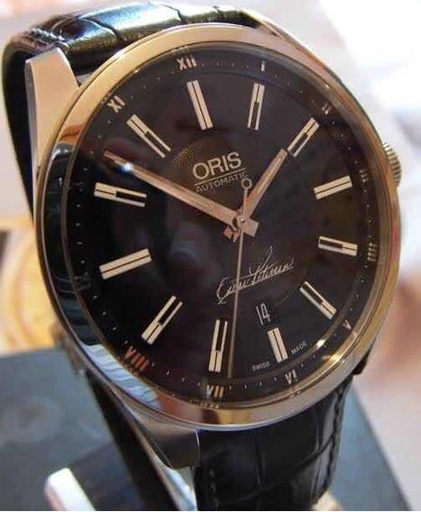 Precioso Reloj Oris Oscar Peterson