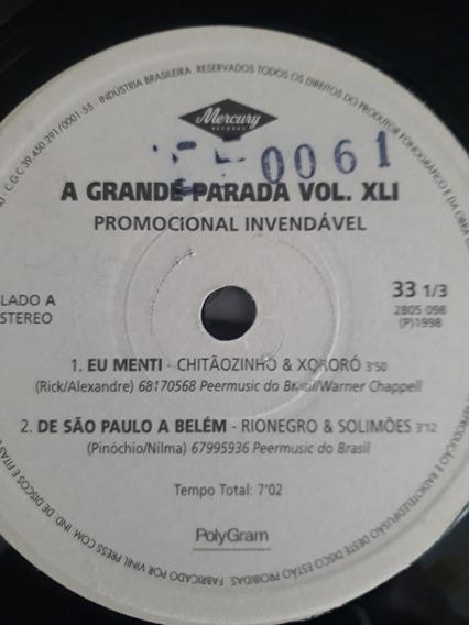 Rionegro & Solimoes Vinil De Sao Paulo A Belem Compacto 1998