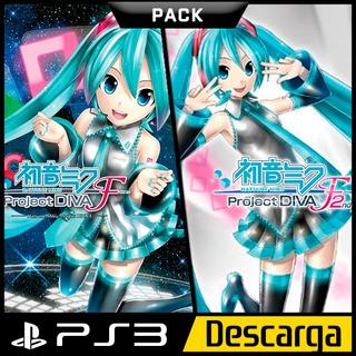 Hatsune Miku Project Diva F Pack Ps3