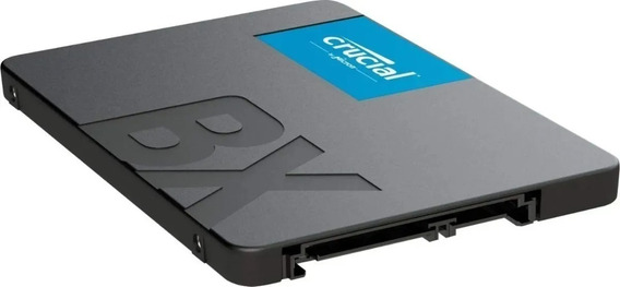 Hd Ssd 1tb Crucial Bx500 2.5 7mm Sata 6gb/s Ct1000bx500ssd1