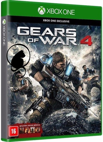 Gears Of War 4 Xbox One Disco Portugues