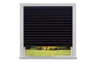 Persiana Bloqueo De Luz Negra Paquete De 6 Ajustable