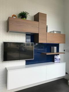 Se Vende Mueble De Tv Italiano Para Living Para Estrenar