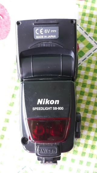 Flash Nikon Sb 800 (usado)
