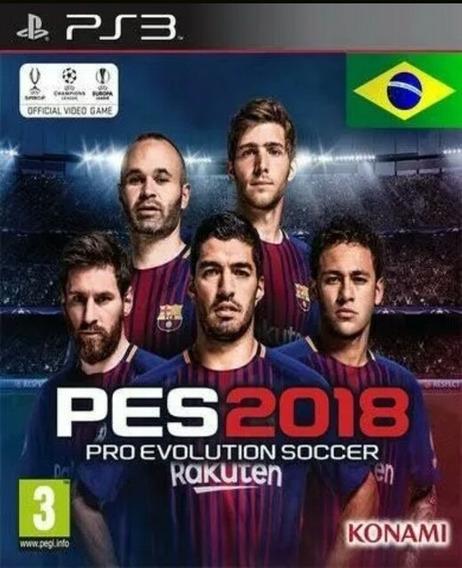 Ps3 Pes 2018 Inglês Uk (futebol) Play3 Jogo Barato