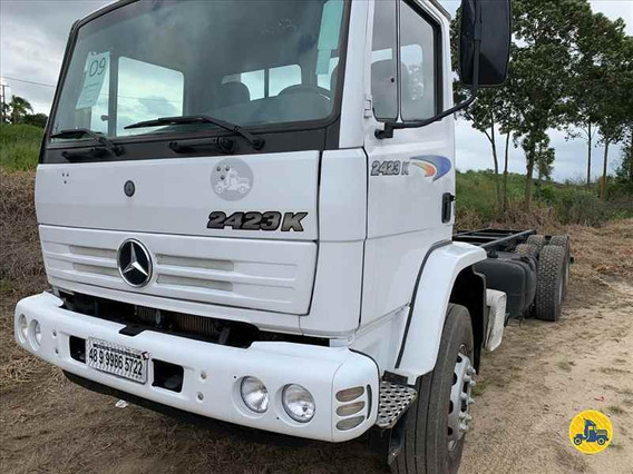 Mercedes 2423 K 6x4 2009 Chassis