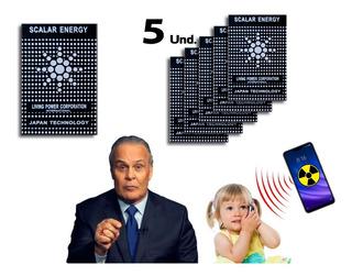 5 Chip Adesivo Neutralizador De Poluição Eletromagnética